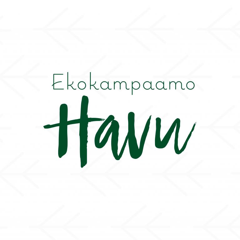 Ekokampaamo Havu - logosuunnittelu