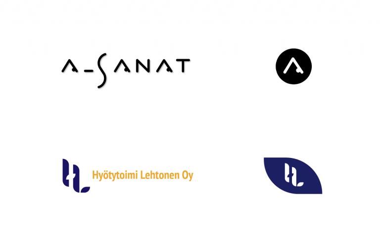Responsiivinen logo - Flatdot